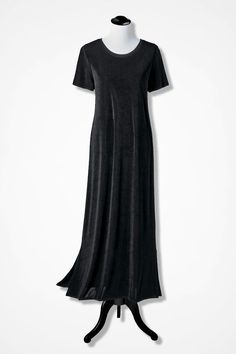 Destinations Fit-and-Flare Maxi Dress - Coldwater Creek