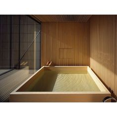 Japanese interior design - Timber bath by Japanese architecture firm official – Japanese interior design Japanese Modern, Japanese House, Japanese Sauna, Modern Japanese Architecture, Organic Architecture, Japanese Style, Japanese Interior Design, Japanese Design, Exterior Design