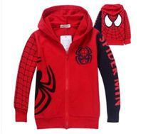 retail New baby boys long sleeve Jackets Autumn Children's casual Outerwear Coats high quality boy cartoon spiderman kids coat #Affiliate