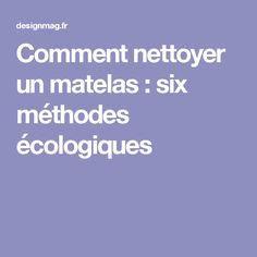 Comment nettoyer un matelas : six méthodes écologiques Nature, Dress, Cleanser, Interview, Bedrooms, Naturaleza, Dresses, The Dress, Nature Illustration