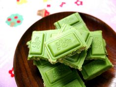 Green Tea Chocolate!