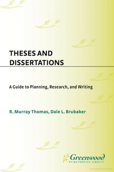 database dissertations theses