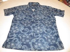 Polo by Ralph Lauren Mens M Sail linen cotton short sleeve pullover Shirt EUC @ #PolobyRalphLauren #PoloRugby