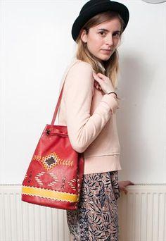 Red Ethnic Bag  Yesterdays-Tomorrow at ASOS marketplace