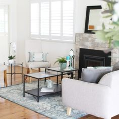 F•A•R•M•H•O•U•S•E  I'm curious - how many of you love the Modern Farmhouse style, as made popular by TV Host Joanna Gaines on Fixer Upper? ⠀⠀⠀⠀⠀⠀⠀⠀⠀ ⠀⠀⠀⠀⠀⠀⠀⠀⠀ I personally love it, and it is the perfect place for my hubby and I to meet in the middle with our personal decor preferences - French Country meets Rustic. ⠀⠀⠀⠀⠀⠀⠀⠀⠀ ⠀⠀⠀⠀⠀⠀⠀⠀⠀ Are you a fan? ⠀⠀⠀⠀⠀⠀⠀⠀⠀ ⠀⠀⠀⠀⠀⠀⠀⠀⠀ Rug and nesting coffee tables @ikea_australia⠀⠀⠀⠀⠀⠀⠀⠀⠀ Cushions @tkmaxxau⠀⠀⠀⠀⠀⠀⠀⠀⠀ Orchid @lavida_trading⠀⠀⠀⠀⠀⠀⠀⠀⠀ Jazz sofa… Modern Farmhouse Style, Joanna Gaines, Fixer Upper, Perfect Place, French Country, Ikea, Cushions, Rustic, Coffee Tables