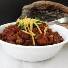 Spicy Slow-Cooked Chili - Allrecipes.com