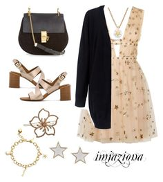 """Random"" by imjaziona ❤ liked on Polyvore featuring Valentino, Kate Spade, Chloé, C/MEO COLLECTIVE, Givenchy, See by Chloé and L. Erickson"