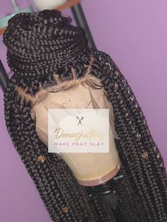 Healthy Tips For Getting Your Hair In Great Shape Box Braid Wig, Braids Wig, Box Braids, Wig Styles, Curly Hair Styles, Natural Hair Styles, Lace Front Wigs, Lace Wigs, Rainbow Wig