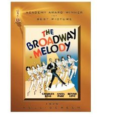 Academy Awards Best Picture 1928/29: The Broadway Melody  **Other Nominees: Alibi, The Hollywood Revue of 1929, In Old Arizona, The Patriot