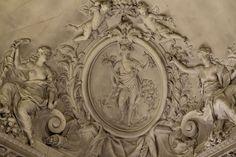 Versailles ceiling reliefs.