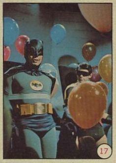 1966 Topps Batman Bat Laffs #17