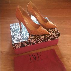 New Diane Von furstenberg heels New cork heels size 5.5 Diane von Furstenberg Shoes