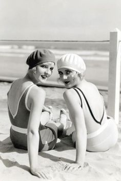 bathing flappers