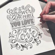 Do it. Type by @lisalorek - #typegang - free fonts at typegang.com | typegang.com #typegang #typography