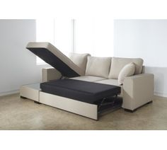 Corner sofa bed with storage £565