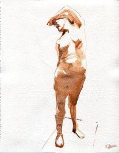 "Saatchi Art Artist J Osuna; Painting, ""Cariatides"" #art"