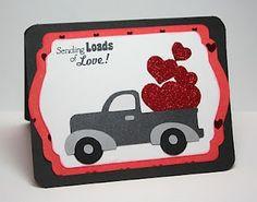 Cute Truck card