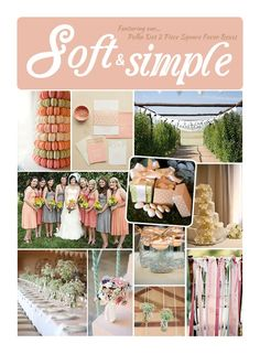 Wedding inspiration board designed and written for Gracious Bridal (Herrick 2012)