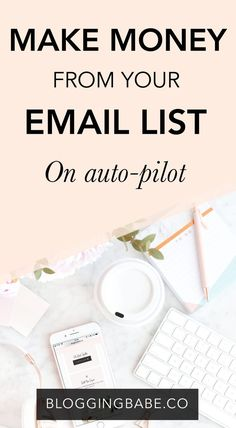 You can actually make money from your email list while you sleep thanks to a very specific sales tactic: sales funnels. So what exactly are sales funnels? Why are they so important to make money blogging? How to create a successful one? Start making money from your email list today... While you sleep!