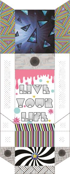 "UNIDAD Nº  2 : ""Packaging/Envase"" ►Caja de cigarrillos ""Live your life/Vive tu vida"""