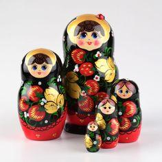 Ladybug Girl Nesting Doll