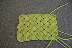 How to Make a Rope Mat (with video and detailed instructions)