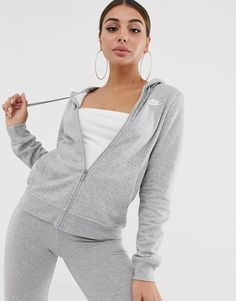 Discover our collection of women's hoodies & sweatshirts at ASOS. Browse the latest sweatshirt styles, including cropped & zip up hoodies. Order at ASOS. Grey Nike Jacket, Grey Nike Hoodie, Nike Sweatpants, Nike Sweatshirts, Zip Up Hoodies, Hoodie Outfit, Hoodie Jacket, Zip Hoodie, Nike Hoodies For Women
