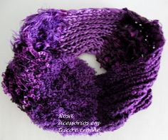 Cowl - knit - winter - gola - tricô - cor - textura by www.rosaacessorios.blogspot.com