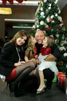 Nancy's family happy new year