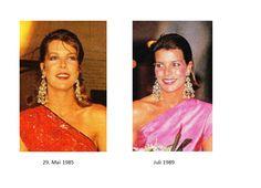 The same earrings 1985 / 1989
