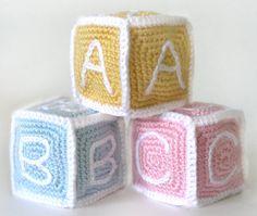 Baby Blocks  PDF Crochet Pattern  Instant by CrochetSpotPatterns, $4.95