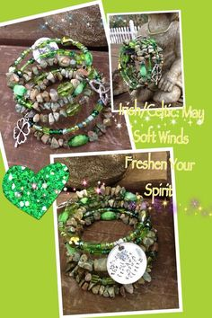 Soft Winds Freshen Your Spirit five wrap memory by DFInspirations, $40.00 -I'm so loving this!