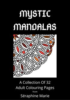 Mandala Colouring Book: Mystic Mandala Adult Colouring Book - Print At Home