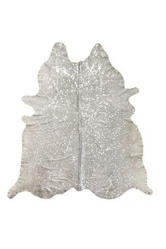 Scotland Cowhide 6ft. x 7ft. Rug - Natural/Silver