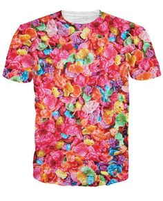 Get this Fruity Pebbles T-Shirt from Cereal Killers and pay homage to the prehistoric taste of this fruity Post cereal. The only thing that could be cuter than