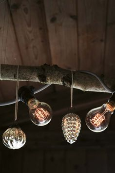 Love the exposed filament light bulbs! // Poppytalk - The beautiful, the decayed and the handmade: Holiday Decor Inspiration from Toast Christmas Lights, Christmas Holidays, Christmas Decorations, Holiday Decor, Winter Holidays, Merry Christmas, Xmas, Christmas Ornaments, Hygge