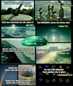 According to the Holy Bible, the World is stationary, flat, on pillars, under a dome and is an enclosed system. Flat Earth Facts, Flat Earth Proof, Flat Earth Movement, Creepy, Truth To Power, Earth 2, Knowledge And Wisdom, Ancient Mysteries, Conspiracy Theories