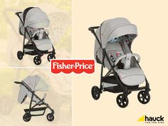 f81b80761f2 Hauck Βρεφικό Καρότσι - Easy Traveler Toronto 4 Grey by Fisher Price