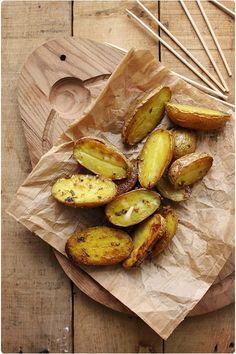 Pommes de terre rôties aux épices indiennes