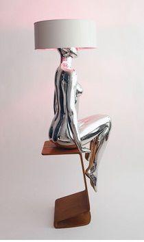 Mannequin Lamp. So cool