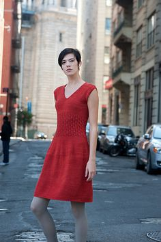 Ravelry: Soho Smocked Dress pattern by Kristina McGowan