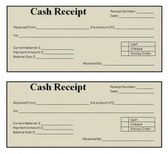 Cash Paid Receipt Pleasing Download Income Tax Rent Receipt Template For Free In Illustrator .