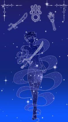 Sailor Uranus Lockscreen by SMeadows.deviantart.com on @DeviantArt