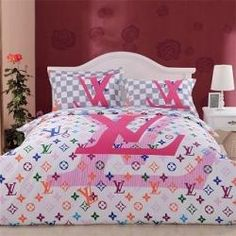 Louis Vuitton Bedding Sheets Set Black And White Louiissssss In