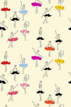 moustache ballet no.2