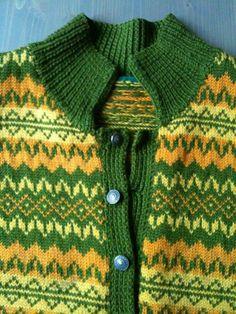 Ingrid Olava - ukjent mønster Norwegian Knitting, Cardigans, Sweaters, Cool Designs, Men Sweater, Retro, Folk, Kids, Inspiration