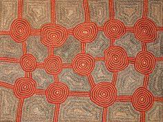Charlie Tjapangati - Untitled - 2011 - 122x91cm  IDAIA - International Development for Australian Indigenous Art
