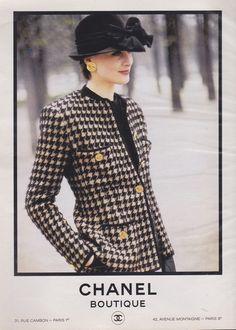 [Inès de La Fressange], [Chanel 1986]
