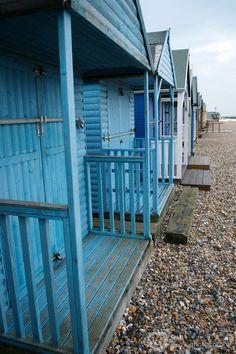 Close To The Beach - huts at Herne Bay, Kent, UK