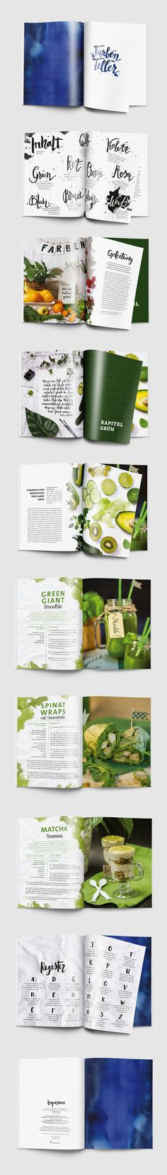 Cookbook Design on Behance